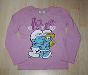 Mädchen Pullover Schlümpfe Kinder Sweatshirt