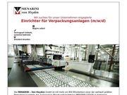 Einrichter für Verpackungsanlagen m w
