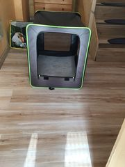 Hundetransportbox Stoff