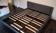 Bettgestell Doppelbett inklusive LED-Beleuchtung