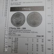 D-Mark 2 Pfennig CU