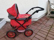 Knorrtoys Puppenwagen One Rockabella - Rot