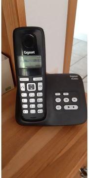 Siemens Gigaset Telefon mit Anrufbeantworter