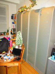 Rollschränke Jalousienschränke Büro Ki-Zimmer 4X