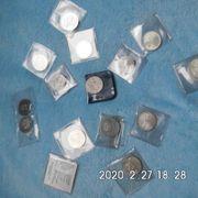 17 Stück 5 DM Gedenkmünzen