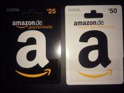 Amazon Gutschein 75EUR