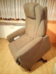 gebr TV-Sessel elektr mit Aufstehfunktion