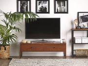 TV-Möbel dunkler Holzfarbton CORINA neu -