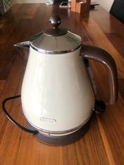 Wasserkocher Delonghi Vintage Design