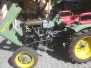 Bautz Traktor Baujahr 1952 Motorenwerke