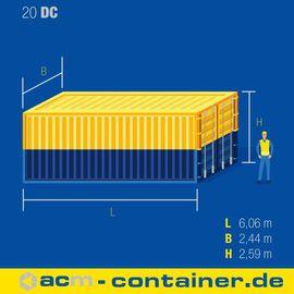 Sonstige Nutzfahrzeuge - 20 fuß Seecontainer NEU Lagercontainer