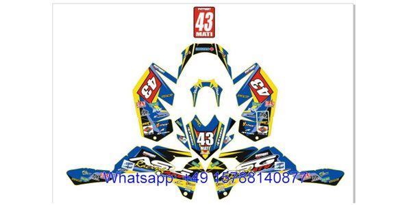 Quad SUZUKI LTR 450 Dekorsatz