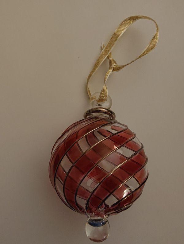 Christbaumkugel aus Glas Weihnachtskugel Weihnachtsschmuck