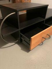 TV-Schrank rollbar mit Schublade gut