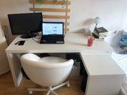 Designer Schreibtisch Bürostuhl nahezu neu