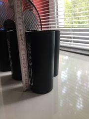 6 Cola-Gläser schwarz