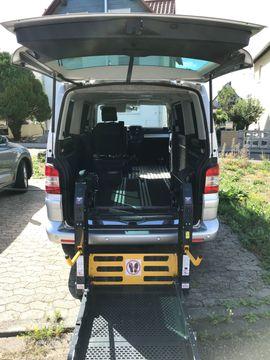 Behindertentransporter als VW Multivan: Kleinanzeigen aus Darmstadt Eberstadt - Rubrik VW Bus, Multivan, Caravelle