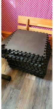 Fitnessmatte Gymnastikmatte Puzzlematte Bodenschutzmatte Unterlegmatte