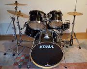 Tama Superstar - komplettes Drumset Sabian