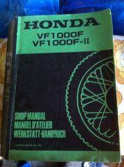 Honda VT1000 Orginal Wekstatthandbuch