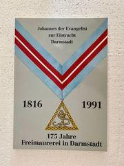 Freimaurer Festschrift 175 Jahre Loge