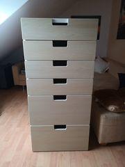Ikea Kommode mit sechs Schubladen