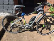 E Bike der Firma Haibike