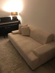 Couch 2 5 Sitzer Hocker