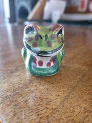 Frosch Figur - ansehen Super schön
