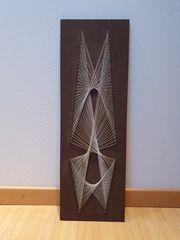 Geometrisches Flechtbild