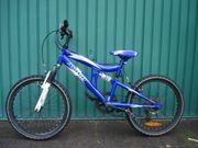 Kinderrad blau