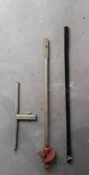 Handerdbohrer für Brunnen und Pfähle