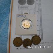 D-Mark 10 Pfennig 1970