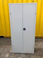 SOMMERAKTION Flügeltürenschrank Aktenschrank aus Stahl