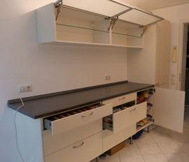 Küchenmöbel, Schränke - Küche mit Backofen Ceranfeld abholbereit
