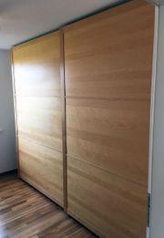Neuwertiges IKEA PAX Schranksystem Birkenfurnier