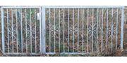 Gartentor Einfahrtstor Zaun verzinkt 300cm