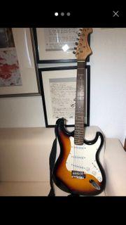 Tenson E-Gitarre mit Zubehör
