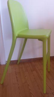 IKEA Kinderstuhl URBAN in hellgrün