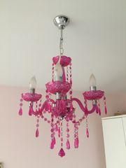 Kronleuchter pink Lampe Bestpreis
