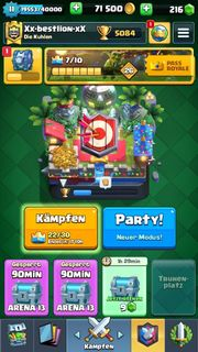 Clash Royale Account Level 11