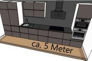 5 Meter Einbauküche Grau