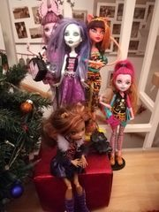 Puppen Monster High 3 Stück