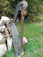 alte Harfe ca von 1760