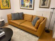 Neuwertiges Ikea Ledersofa Stockholm mit