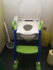 Kinder-Toilettensitz mit Treppe