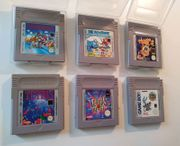 6 GameBoy-Spiele