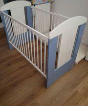 Babybett Gitterbett für kleine prinzen