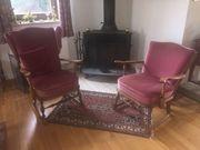 Antike Sessel Chippendale-Stil