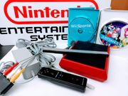 Nintendo Konsole Mini Rot Komplett